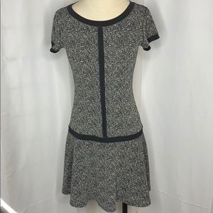 Eva Varro Marled Midi Dress Sz XS
